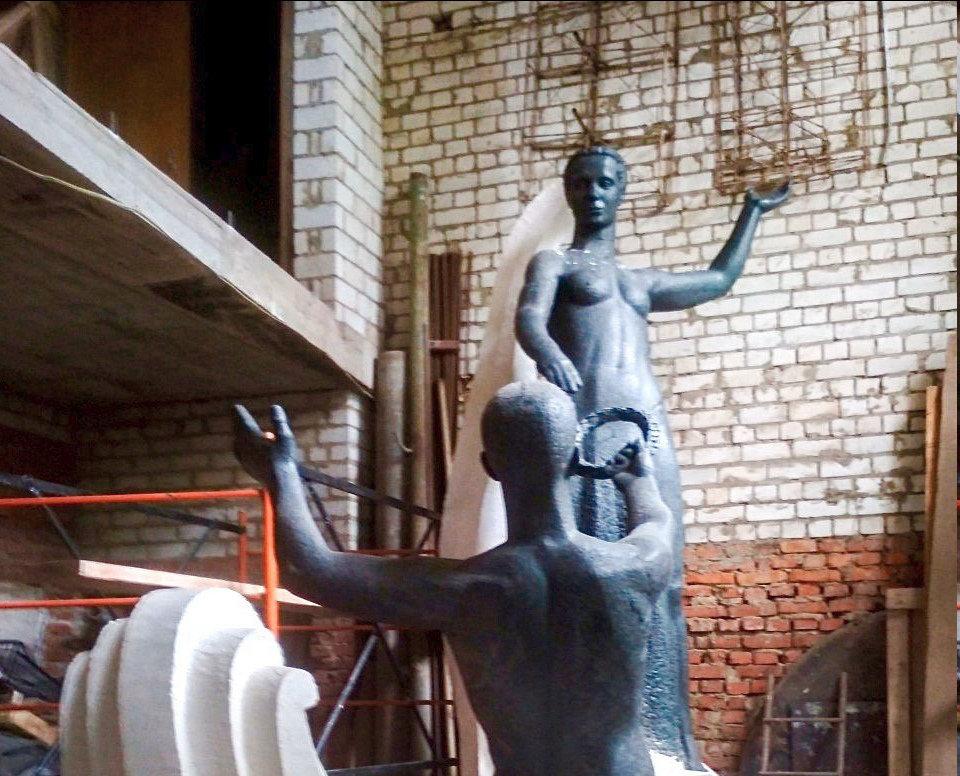 Какой будет скульптура встречи двух рек в Белгороде, фото-3