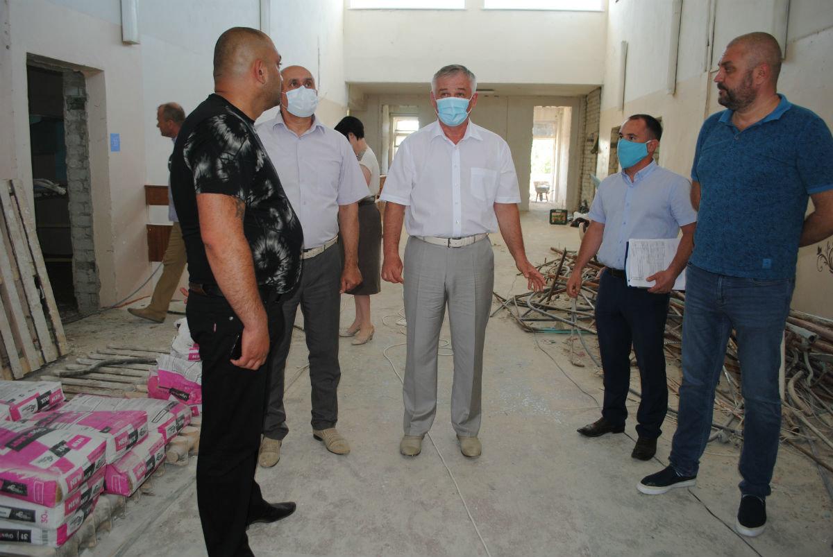 На средства депутата Андрея Скоча в белгородской сельской школе исправляют огрехи советских строителей, фото-6