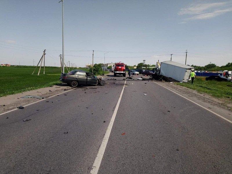 Авария под Белгородом унесла жизни трёх человек, фото-4