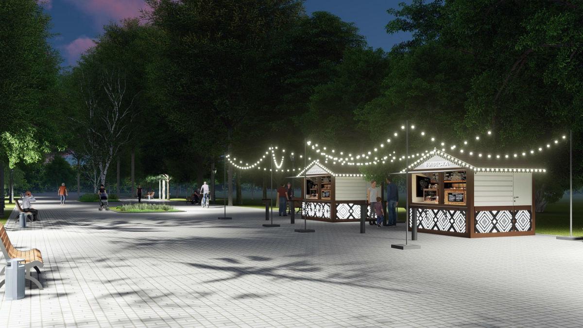 В августе в Центральном парке Белгорода откроется «Октябрь», скейт-парк и детский городок, фото-2