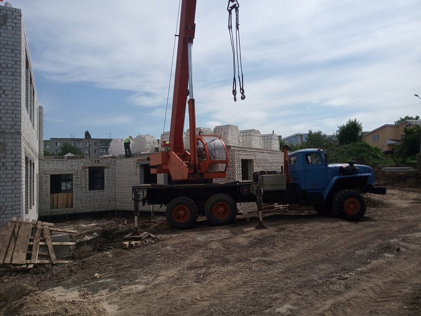 В Белгороде на месте снесённого аварийного детского сада строится новый , фото-4