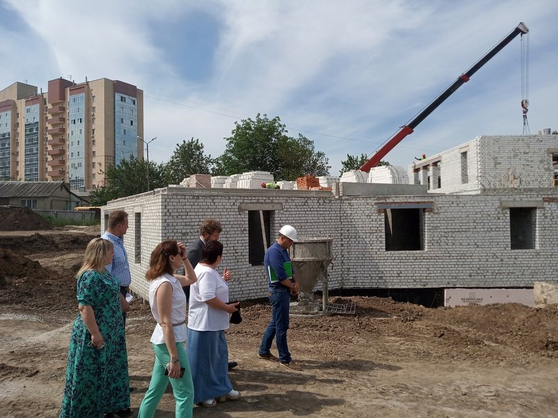 В Белгороде на месте снесённого аварийного детского сада строится новый , фото-3