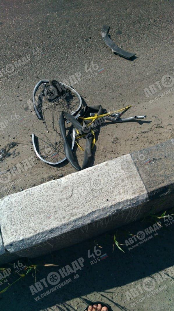 В Курске водитель BMW с белгородскими номерами насмерть сбил велосипедиста, фото-2