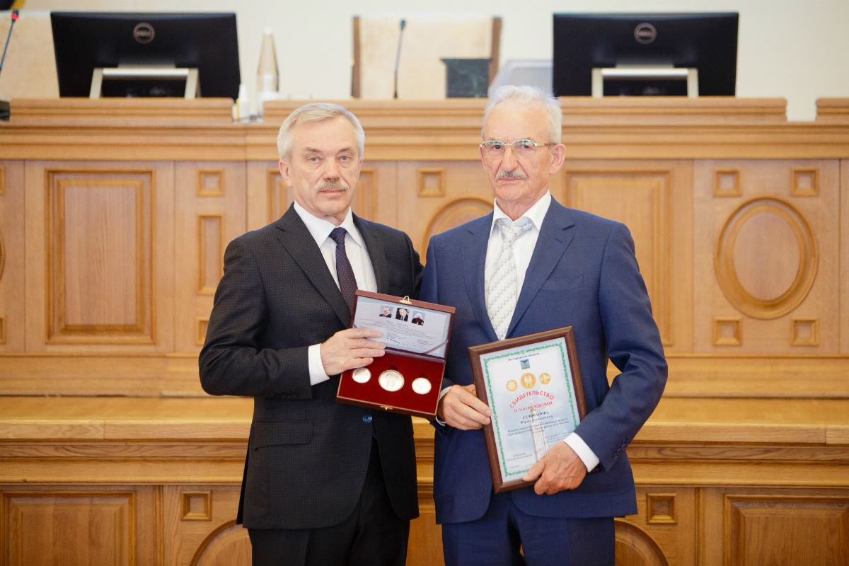В Белгороде за развитие строительной отрасли наградили Юрия Селиванова  , фото-1
