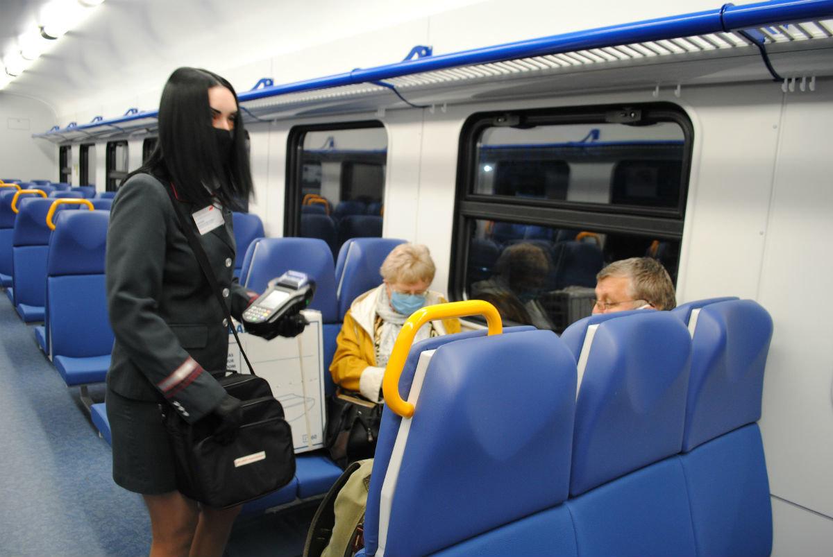 В пригородных поездах Белгородской области стала доступна безналичная оплата проезда, фото-1