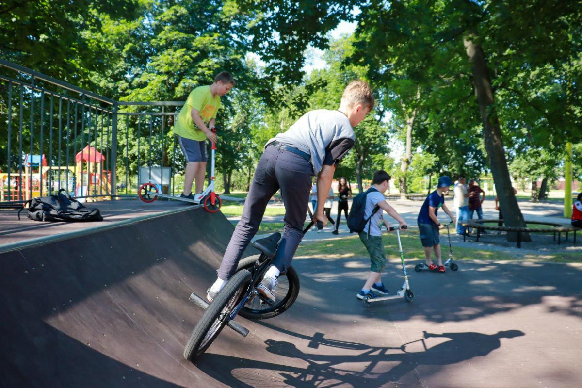 На западе Белгородской области открылась районная скейт-площадка, фото-3