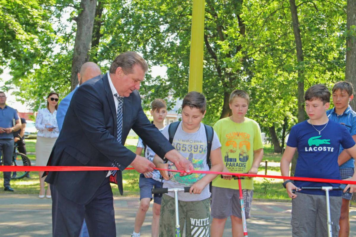 На западе Белгородской области открылась районная скейт-площадка, фото-4