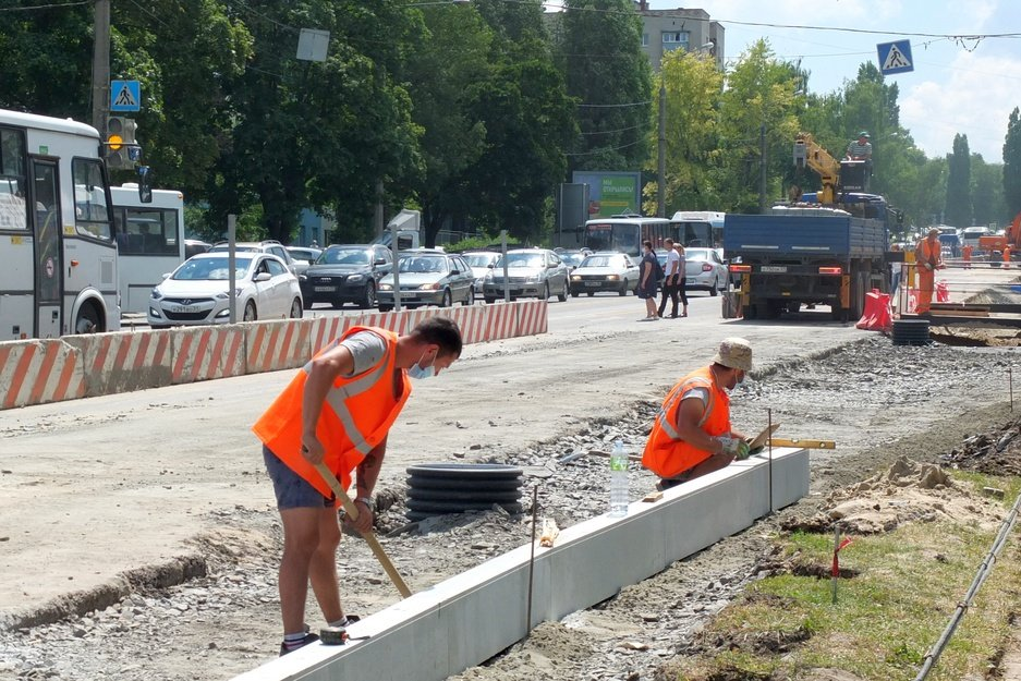Улицу Щорса в Белгороде реконструируют к концу года, фото-2