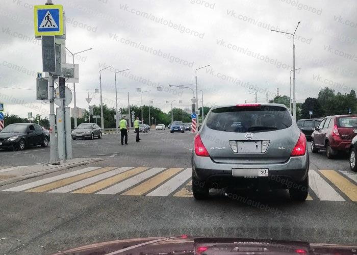 Из-за поломки умного светофора Белгород попал в большую пробку , фото-6