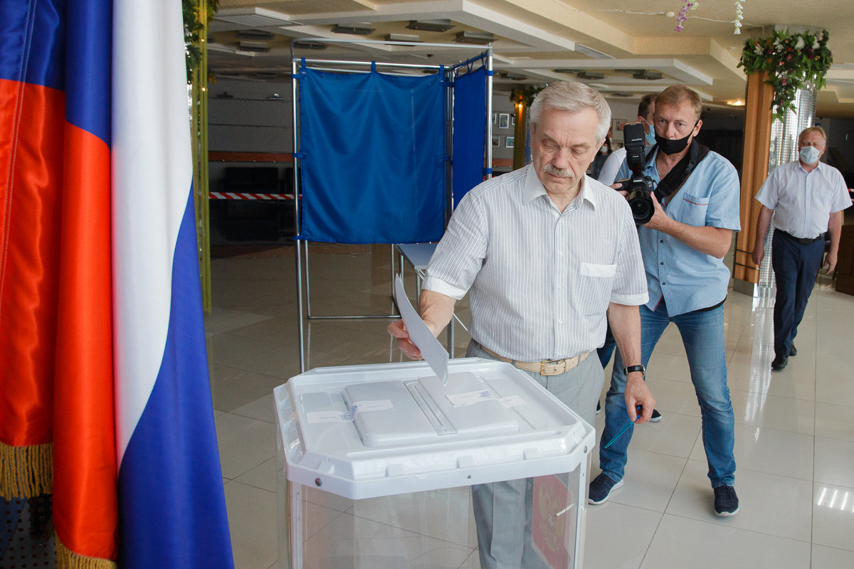 Половина жителей Белгородской области уже поучаствовала в общероссийском голосовании, фото-1