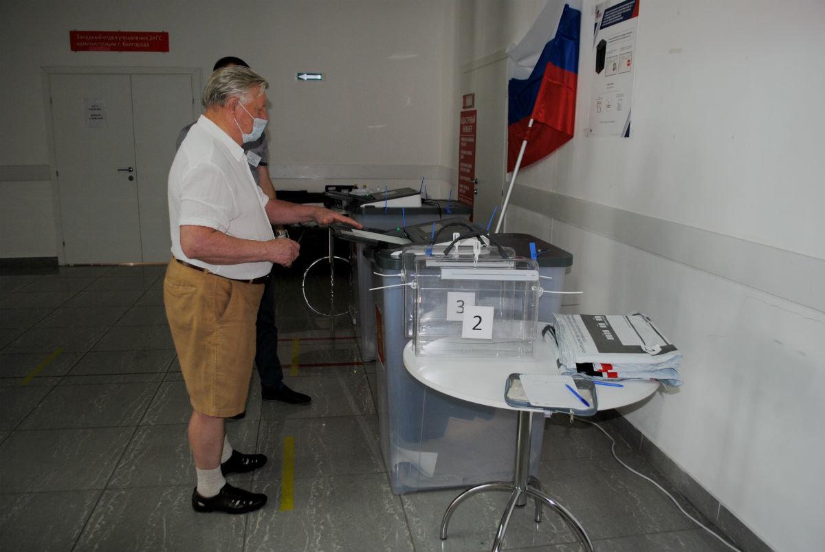 В Белгородской области уже проголосовало более 72 % избирателей, фото-1