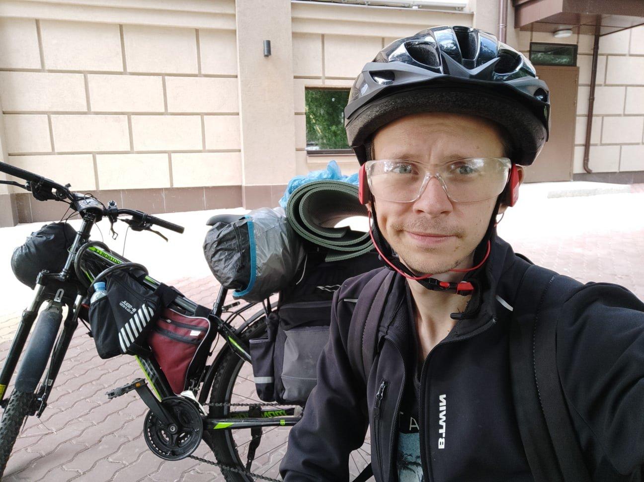 Путешественник Денис Бритвин: Позади у меня ничего нет. Что осталось – всё на велосипеде, фото-1