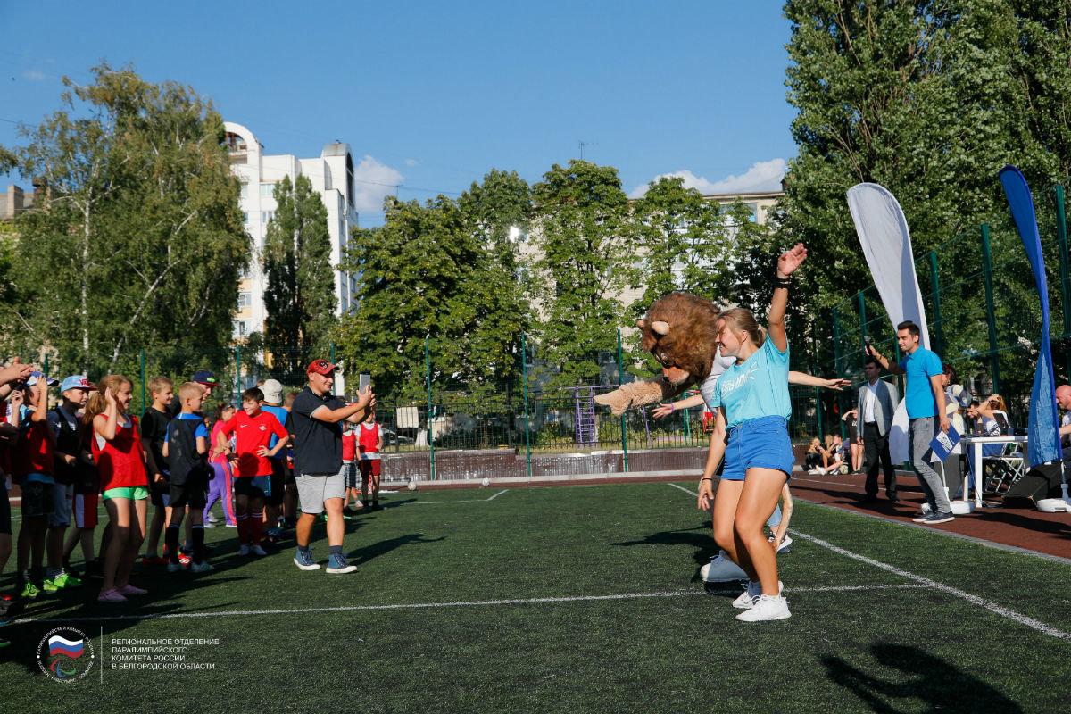 Инклюзивный спортивный праздник прошёл в 15-м округе Белгорода, фото-6
