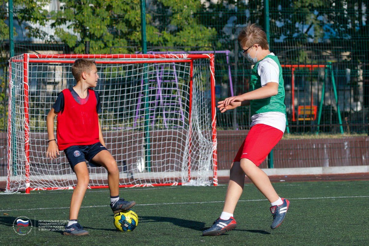 Инклюзивный спортивный праздник прошёл в 15-м округе Белгорода, фото-8