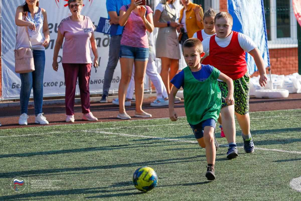 Инклюзивный спортивный праздник прошёл в 15-м округе Белгорода, фото-9