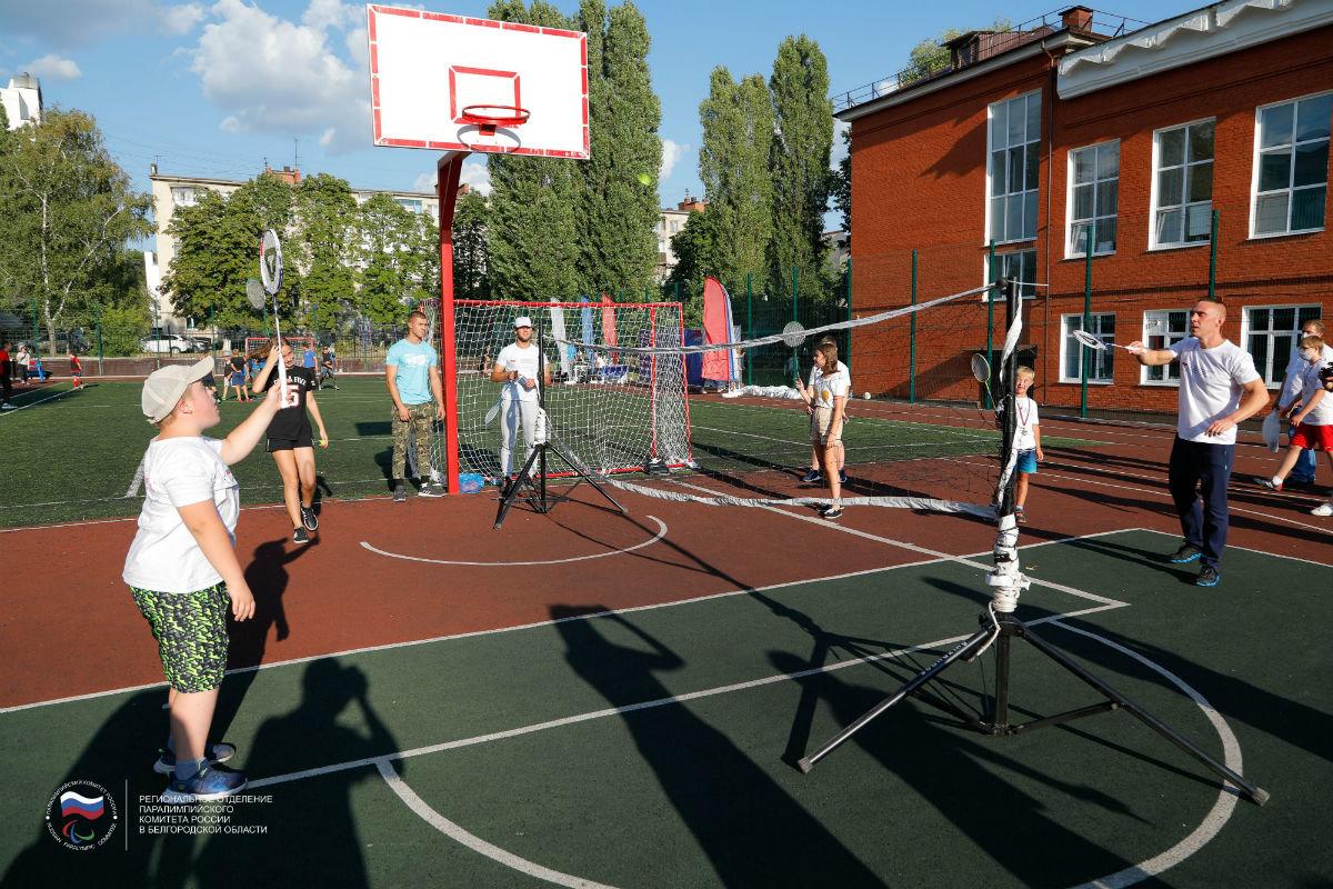 Инклюзивный спортивный праздник прошёл в 15-м округе Белгорода, фото-14