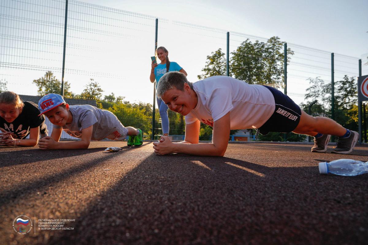 Инклюзивный спортивный праздник прошёл в 15-м округе Белгорода, фото-19