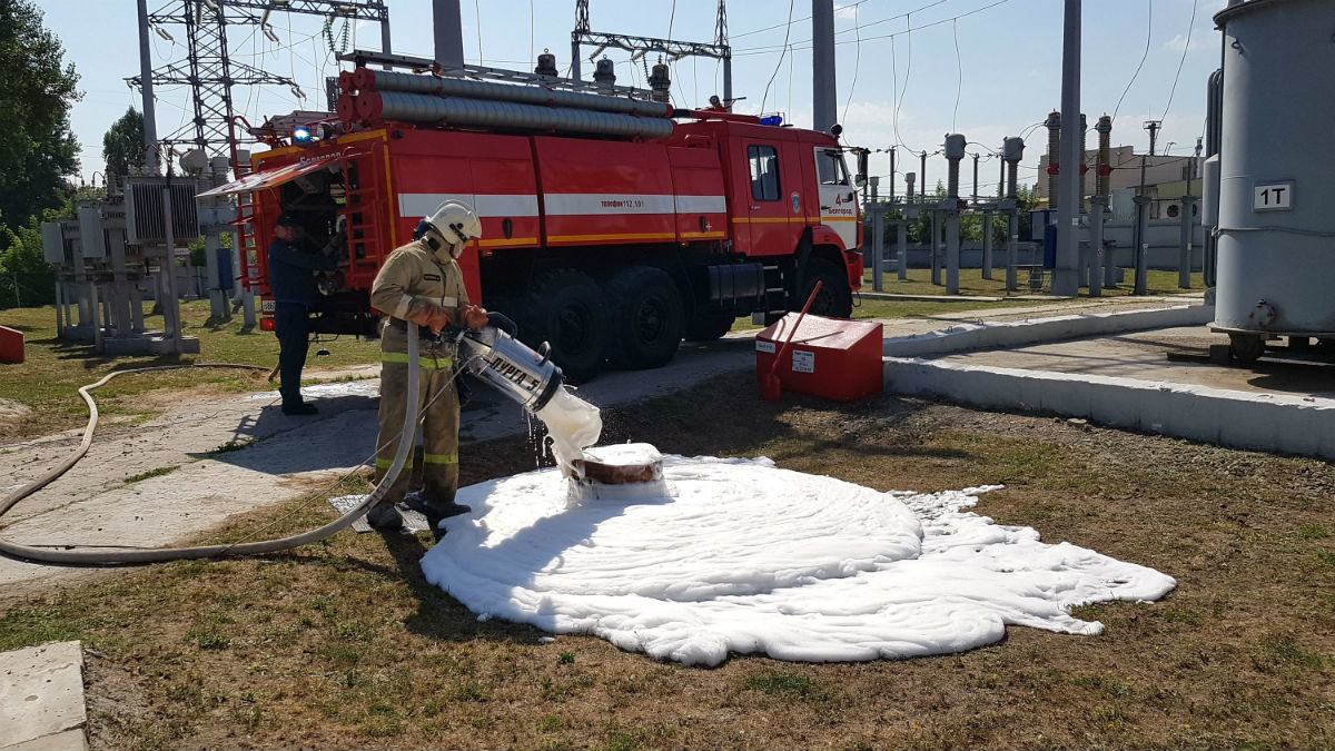 Белгородские энергетики накануне отопительного сезона провели учения по ликвидации энергоаварии, фото-3
