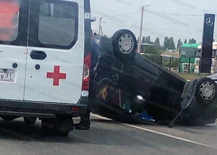 В Белгороде за час перевернулись две машины, фото-7, Фото: паблик во ВКонтакте «Авто Белгород»