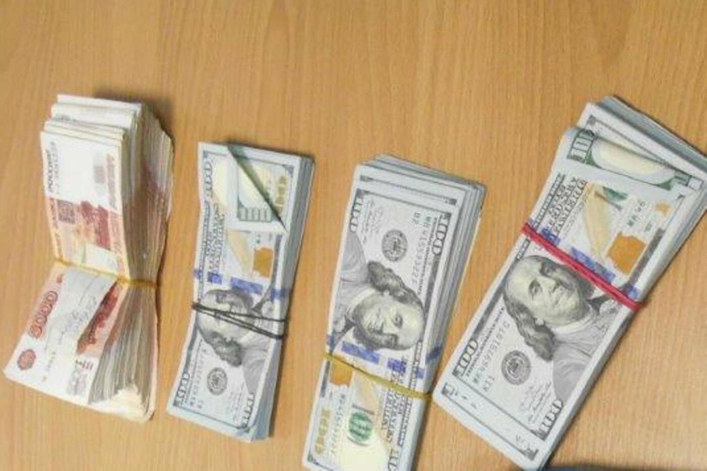 На границе под Белгородом изъяли 20 тысяч долларов и миллион рублей, фото-2