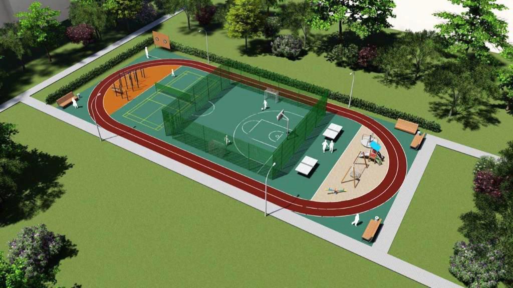 В Белгороде появилась первая межквартальная спортплощадка, фото-1