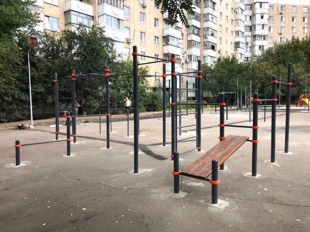 В Белгороде появилась первая межквартальная спортплощадка, фото-2