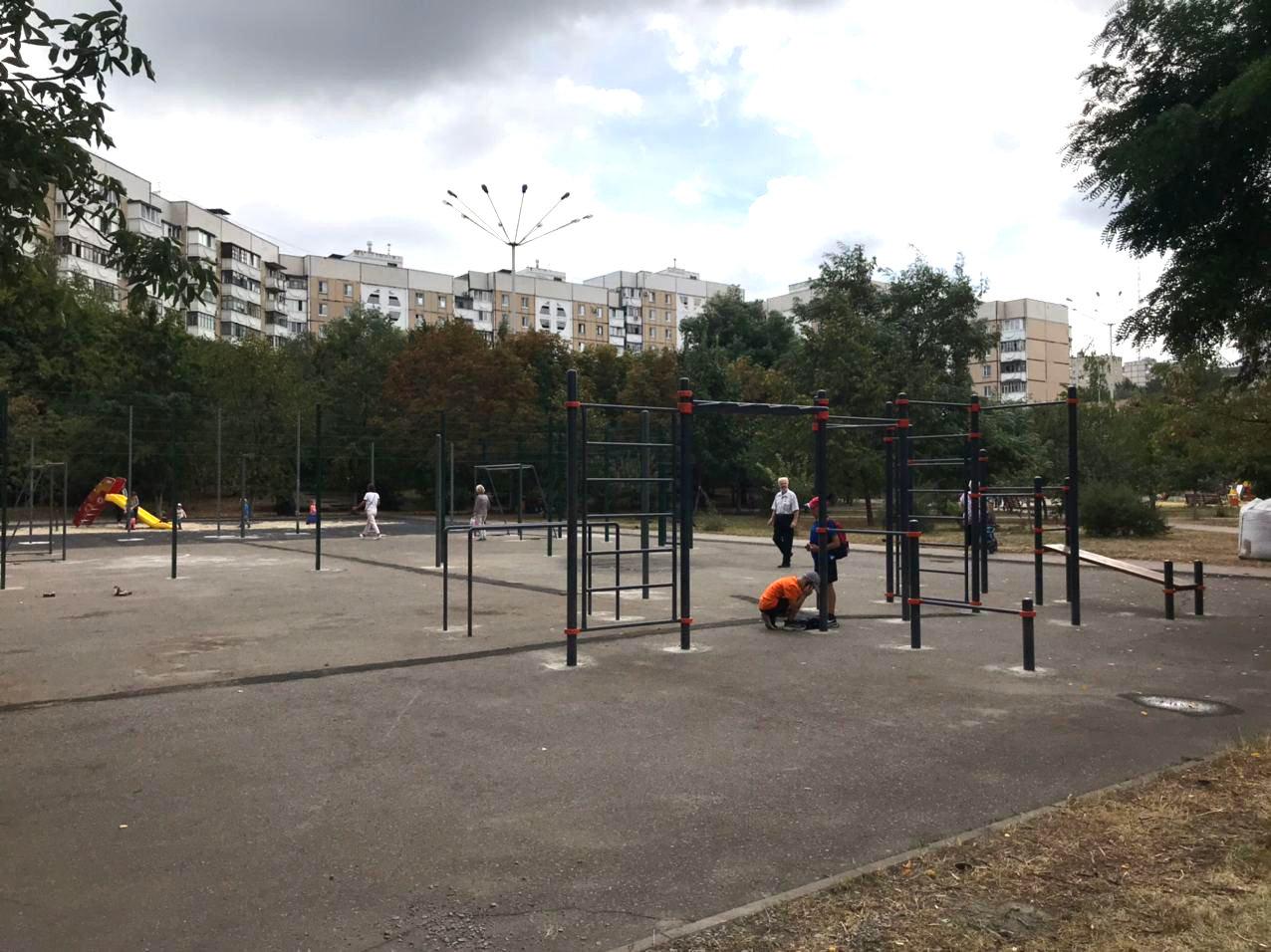В Белгороде появилась первая межквартальная спортплощадка, фото-3