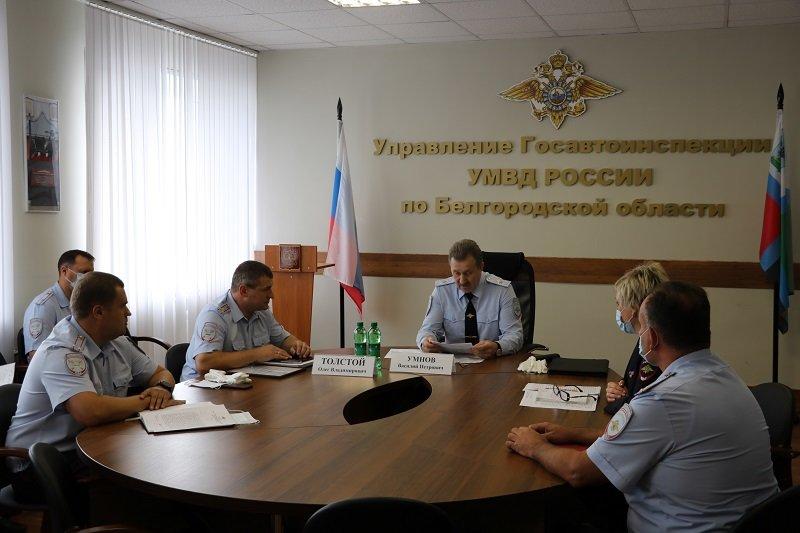 В белгородской Госавтоинспекции сменилось руководство, фото-1