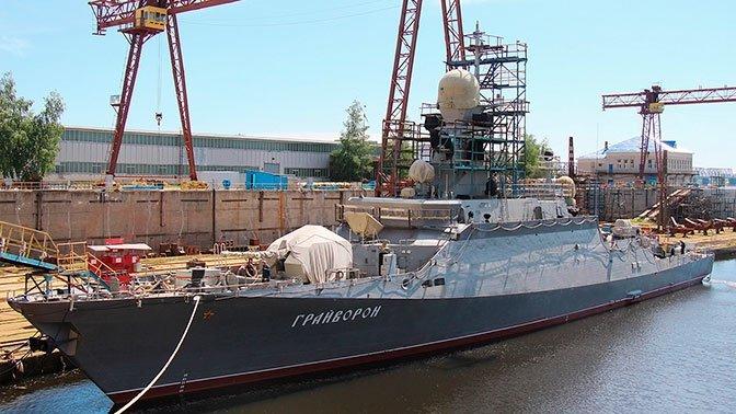 Корабль «Грайворон» вышел в Чёрное море для заводских испытаний, фото-1