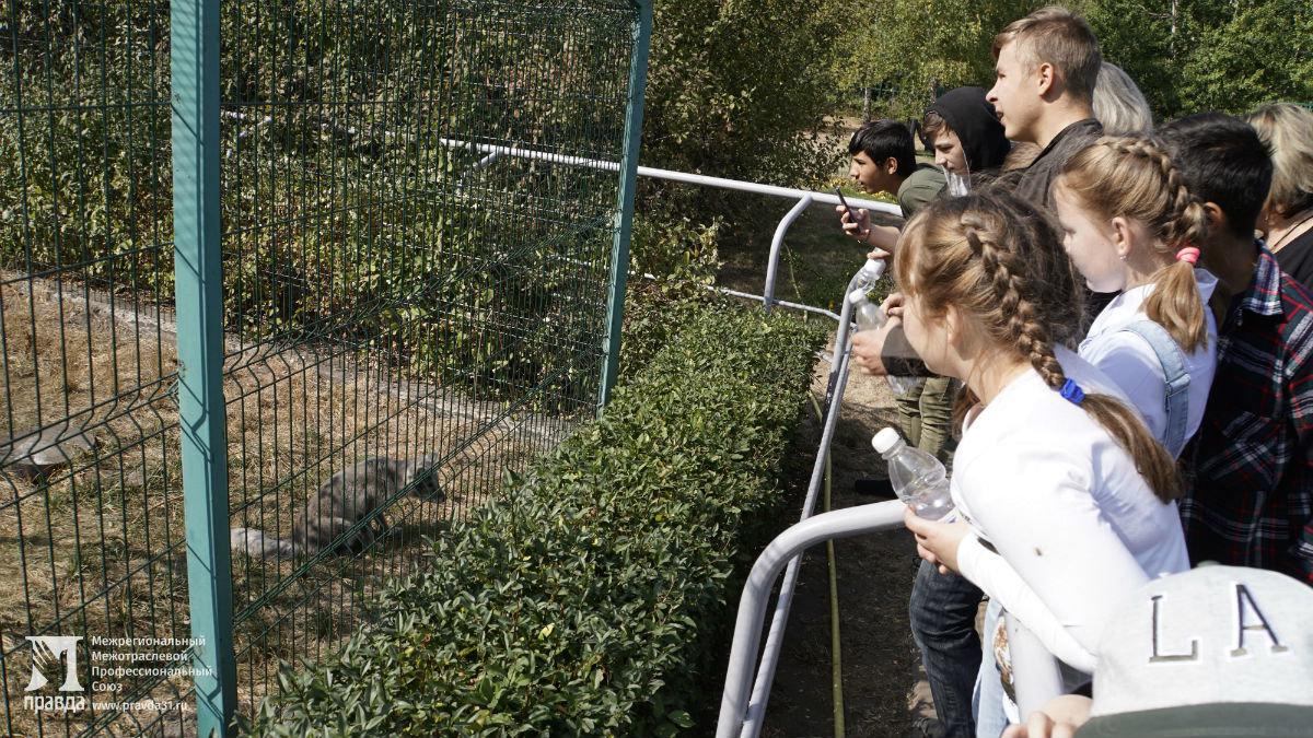 Профсоюз «Правда» подарил воспитанникам социально-реабилитационного центра поход в зоопарк и бургер-вечеринку , фото-3