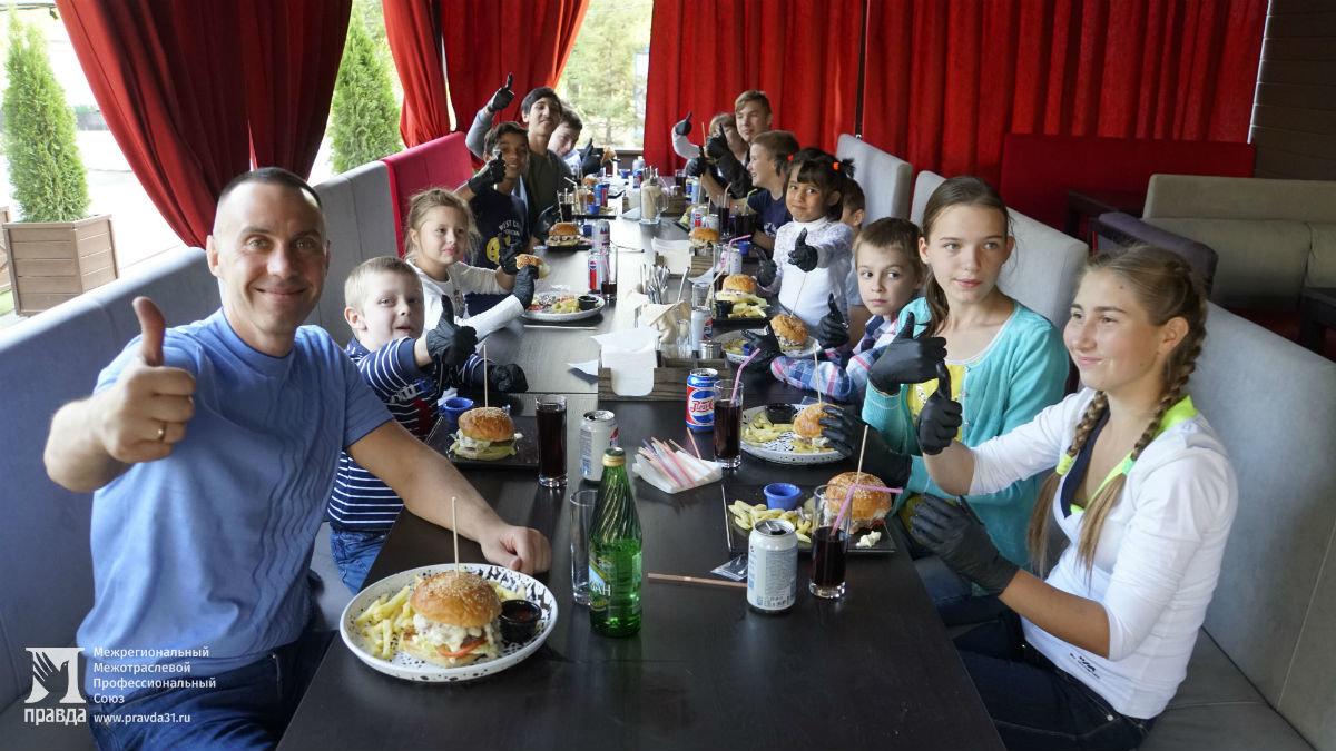 Профсоюз «Правда» подарил воспитанникам социально-реабилитационного центра поход в зоопарк и бургер-вечеринку , фото-7