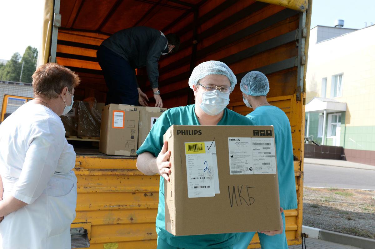 «Металлоинвест» передал белгородским больницам медицинское оборудование, фото-1