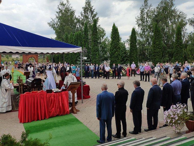 Как похоронили умершего от коронавируса белгородского священника, фото-1