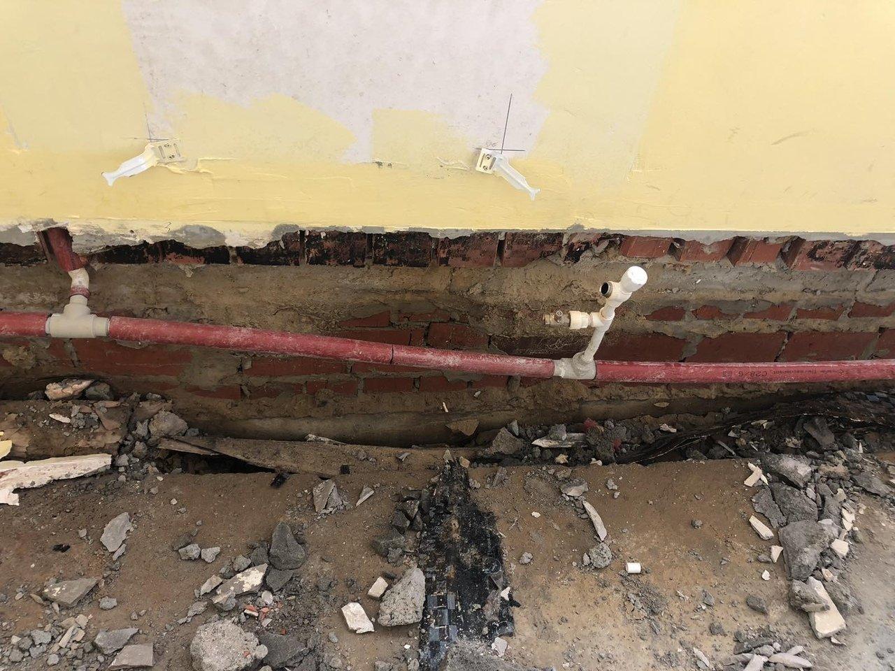 Чиновники прокомментировали обвал пола в школе под Белгородом, фото-3