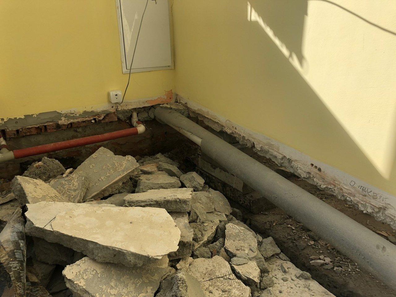 Чиновники прокомментировали обвал пола в школе под Белгородом, фото-4