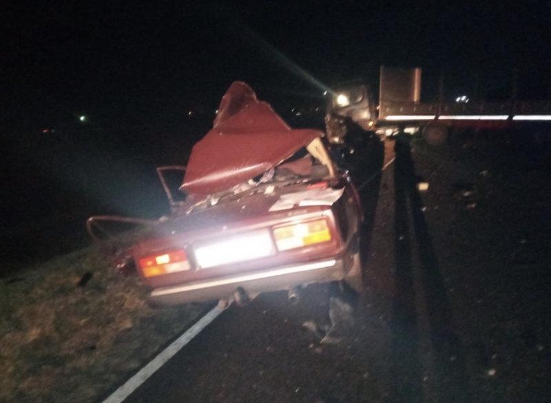 Трое белгородцев погибли в столкновении легковушки с фурой, фото-4