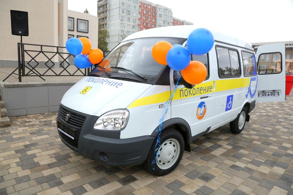 Фонд «Поколение» передал спецавтомобиль для медпомощи старооскольцам с ограниченными возможностями, фото-1