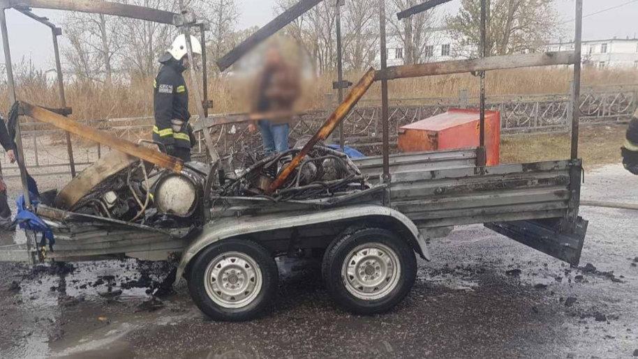 В Белгороде на заправке взорвался газовый баллон , фото-1