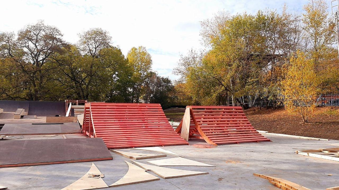 Скейт-площадка в центре Белгорода почти готова к открытию, фото-3