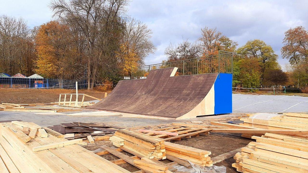 Скейт-площадка в центре Белгорода почти готова к открытию, фото-1