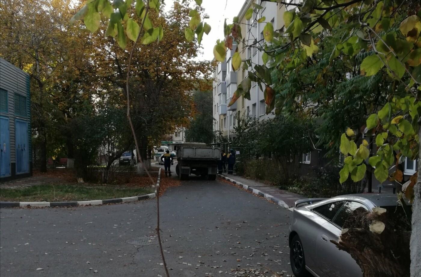 Коммунальная «могила». В центре Белгорода рабочие оставили яму перед подъездом пятиэтажки, фото-5