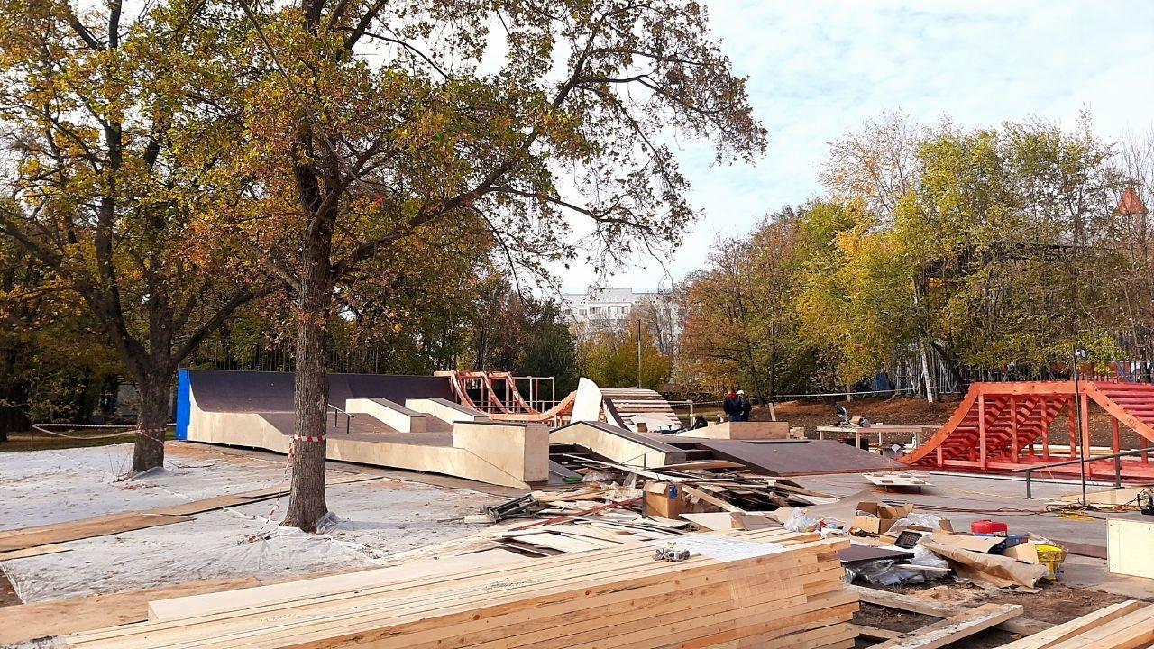 Скейт-площадка в центре Белгорода почти готова к открытию, фото-2