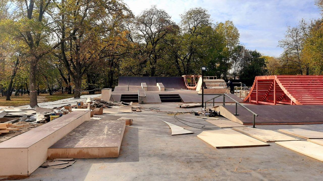Скейт-площадка в центре Белгорода почти готова к открытию, фото-4