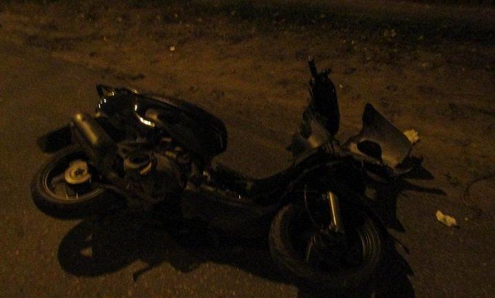 В Белгороде подросток на скутере попал под автобус, фото-2