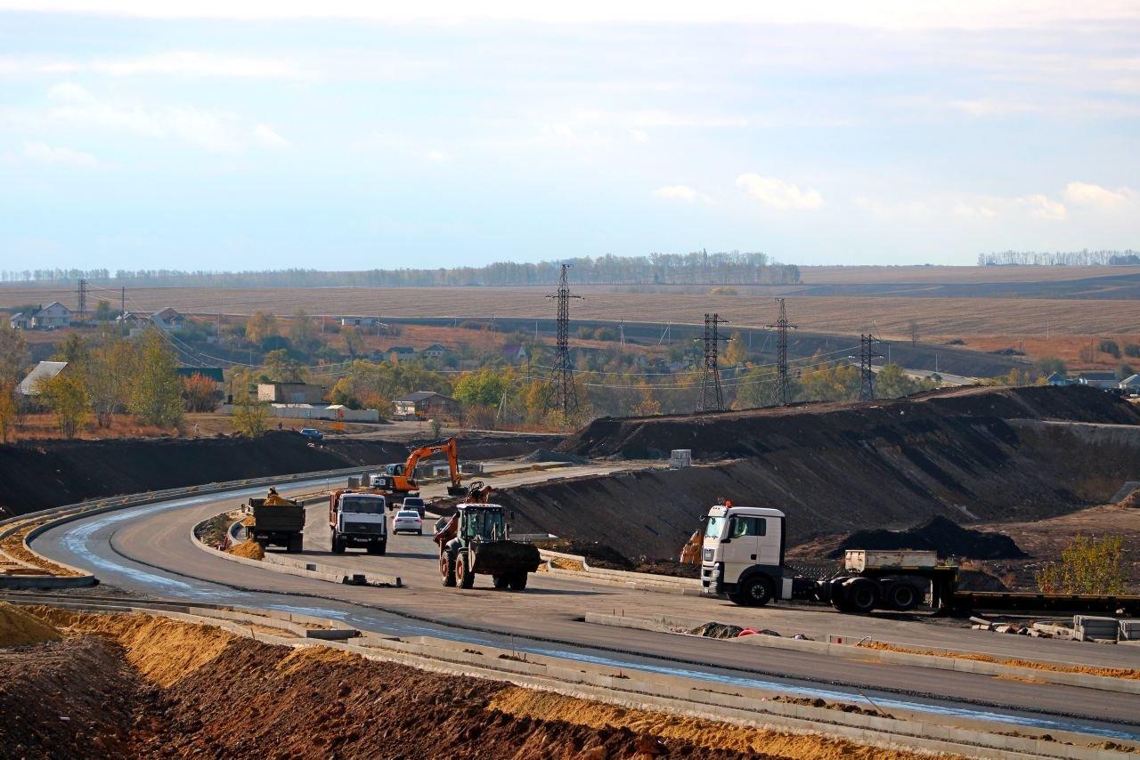 Новая объездная дорога в Губкине, Фото: Белдорстрой