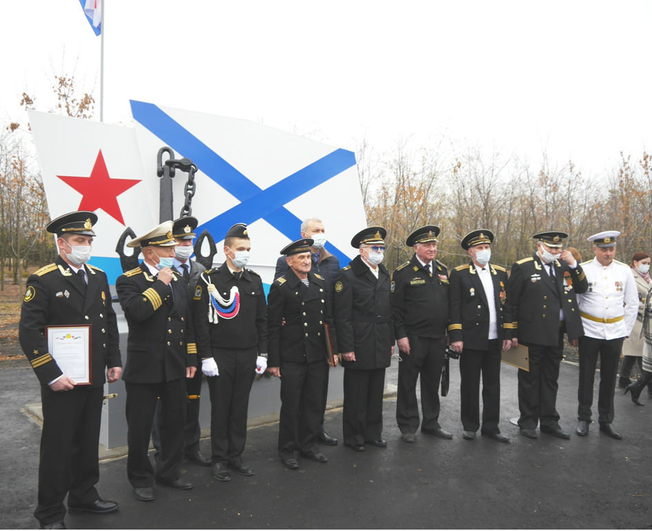 В Белгородской области открылся памятник морякам, фото-4