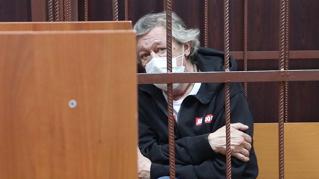 Михаил Ефремов, фото Таганского райсуда Москвы