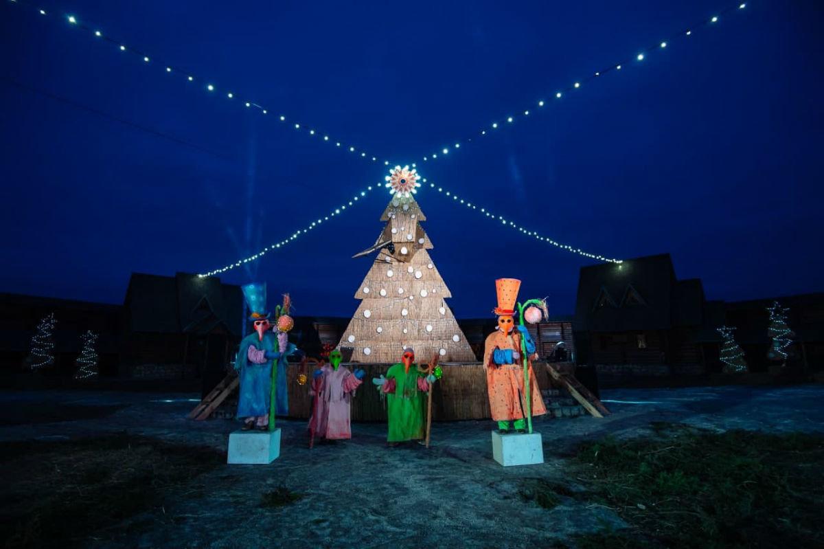 Новый год на Кудыкиной горе