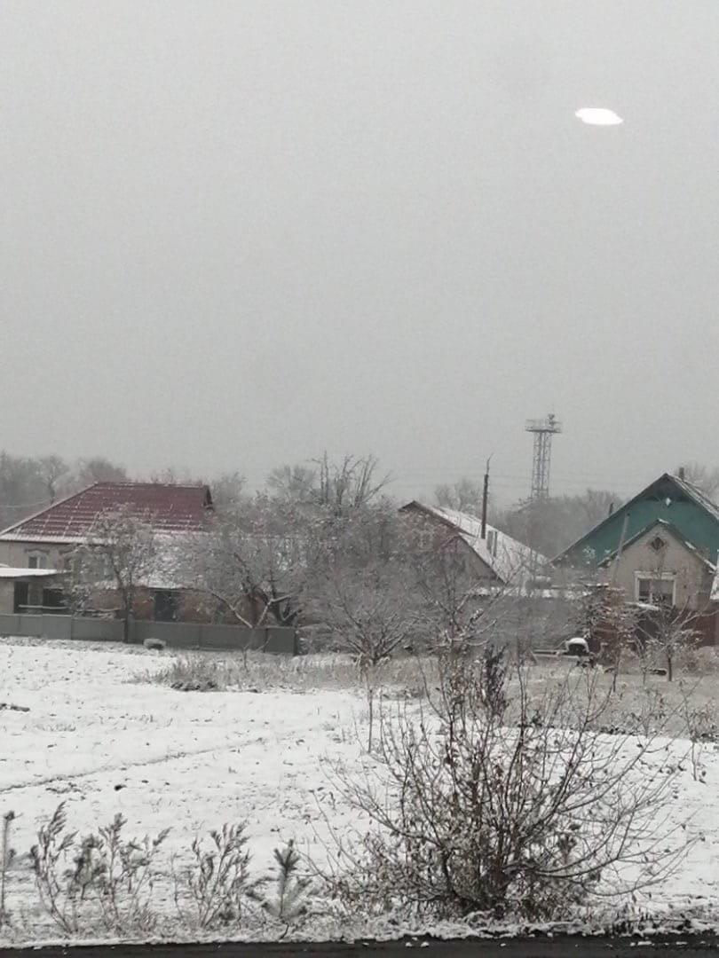 В Белгороде выпал первый снег