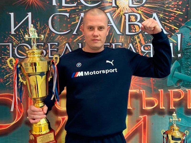 Артём Соколов и его награды